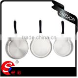 best sell induction cooking pan/ stainless steel nun stick frying pan/ detachable sauce pan