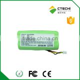 CS-LS4278 3.6V 800mAh ni-mh battery pack,AAA size rechargeable battery pack for barcode scanner/wireless headset battery