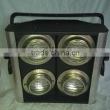 Stage effect viewer audience light warm white 2600W , 4 x 650w blinder light Indoor stage