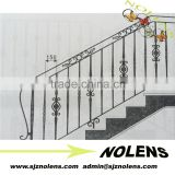 Wrought iron balcony railingl/Iron staircase designs/outdoor wrought iron railings from China Suppliers
