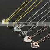 Long chains pendant gold necklace for women                                                                         Quality Choice