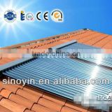 150L all-in-one solar energy systems/Solar water heating system with electricity in china with Porcelain enamel inner tank