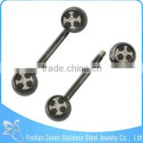 2015 Hot Straight-Bar Body Piercing Jewelry Custom Tongue Rings
