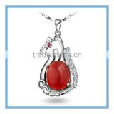 Lovely Horse Pendant Necklace New fashion jewelry