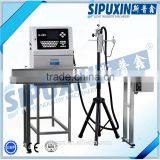 China Sipuxin_K200 Continuous high speed inkjet printer, bottle printing machine, date and batch printing machine sale