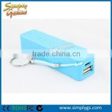 (CE,Rohs,FCC certified) portable charger power bank, power bank 2200mah, custom power bank