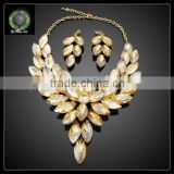 2016 New Arrival African Gold Plated Jewelry set which for Wedding jewelry set Match Clothes KHK867