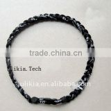 2011 Hot selling 3 ropes titanium necklace baseball with 55colors