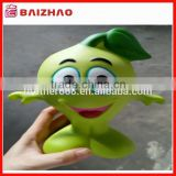 promotional big size vynil coin bank,custom vynil figure toy,cute cartoon plastic coin bank