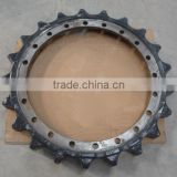 bulldozer D20 D21 D30 D31 D40 D50 D60 D65 D80 D85 D95 D155 sprocket,roller chain sprocket, sprocket wheel,tooth segment
