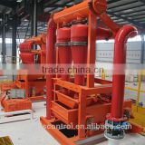air compressor water well drill machine china desander manufacturer