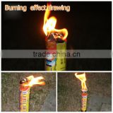 Two or Four hours handhold torch fireworks candle fire torch candle for General outdoor lighting