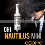 Stock Offer original Aspire Nautilus Mini tank, Aspire Nautilus BVC/BDC coil inside, better than dry herb vaporizer rex !!!