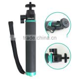 High Quality Foldable Extendable Camera Tripod Monopod Selfie Stick With Bluetooth Shutter Button