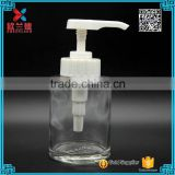 2016 new product 240ml bathroom accessories hand washing mason jar glass soap foam pump bottle                                                                                                         Supplier's Choice