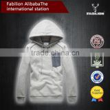 2015 New Autumn personalized printing hooded cardigan dry fit hoodie wholesale for pocket hoodies