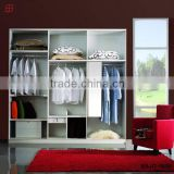 high quality cheap multifunctional corner bedroom furniture type wardrobe design made in china