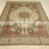 Silk Hand Knotted Rug belgium carpet persian carpet suitable livingroom                                                                         Quality Choice