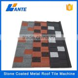 2016 Trade assurance WANTE stone coated aluminum metal roof tile price , shingle roof tile