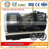Wholesale wheel rim straightening machine with lathe                                                                         Quality Choice