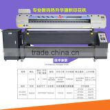 M-197Q flag plotter printer with two EPSON DX7 printer head direct printing on polyester banners for advertisement
