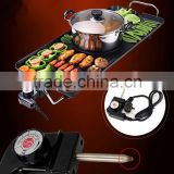 China Direct Supplier of Korean Teppanyaki smoke-free non stick pot barbecue machine electric grill flat pan                                                                         Quality Choice