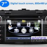 Autostereo Car DVD Player for Atenza Auto Radio Media System Bluetooth iPod Free Map Phonebook USB SD PIP Multi-languages