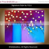 Hot home decor wholesale light up LED canvas oil painting with Cartoon characters