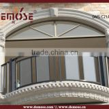 outdoor hand rails/balcony fence/glass aluminium balcony railing