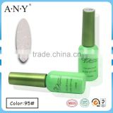 ANY Salon Using Nail Art Beauty Caring Soak Off Professional Nail Polish UV Gel Color White