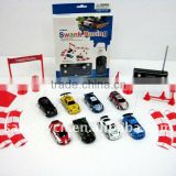 1:58 4ch rc track car toys with signpost