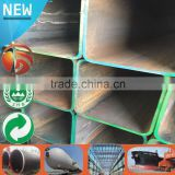 erw square pipe erw square tube high quality square steel tube of factory sale galvanized steel square pipe