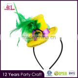 Handmade New Orleans Girls Plain Headbands Decoration For Mardi Gras                                                                         Quality Choice