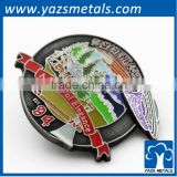 zinc alloy metal button badge