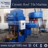 Fully Automatic Moulding Colored Cement Roof Tiles Making Equipment