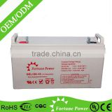 12V120AH rechargeable battery pack for portable dvd player
