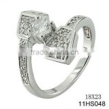 2013 Fashionable 925 sterling silver Horse nail ring