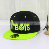 Wholesale High quality fashion OEM custom logo baseball mesh hiphop caps china snapback hats