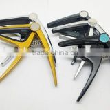Metal Electric/Acoustic/Folk/Bass chinese guitar capo,color guitar capo with customized logo