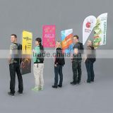 Advertising Mobile Display Human Backpack Carrying System
