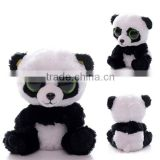 2015 factory mini plush panda keychain,custom plush doll