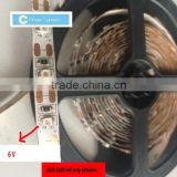6v led tape light led flexible strip 6v led strip made in China