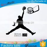 basketball wall sticker/alphabet wall sticker/custom printed wall stickers