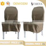 Promotional products custom hotel furniture dining chair cover, banquet chair cover wholesale
