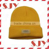 Roll-up Brim Mens Winter 5 lED Lights Knitt Beanie Hat Cap
