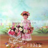 6 x 6 Meters Hand Painted Scenic Studio Background For Children