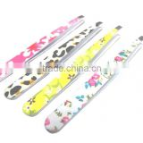 Black painting Stainless steel good quality slanted eyebrow tweezer with gold stamping Bamboo tree pattern