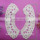 2015 wholesale fashion beaded embroidery lace collar for garment accessory