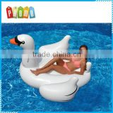 Wholesale PVC inflatable swan float, inflatable giant swan water toys