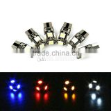 Led canbus Error Free Bulbs T10 5smd 5050 W5W 194 501 Car Interior Light parking light width number plate door Lamps